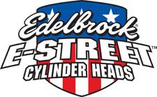 Edelbrock 5025 E-Street Aluminum SB Ford Cylinder Heads